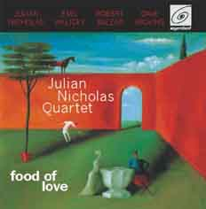 Album cover - food of love